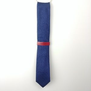 Alfani Men's Blue Slim Tie